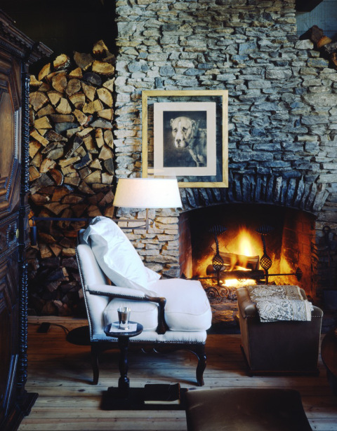 McAlpine Journal: Fireplace