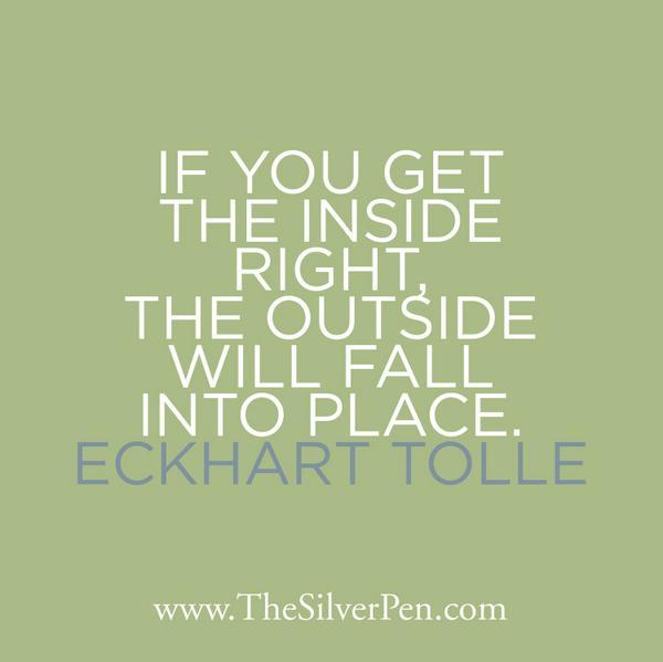 McAlpine Journal: Eckhart Tolle quote