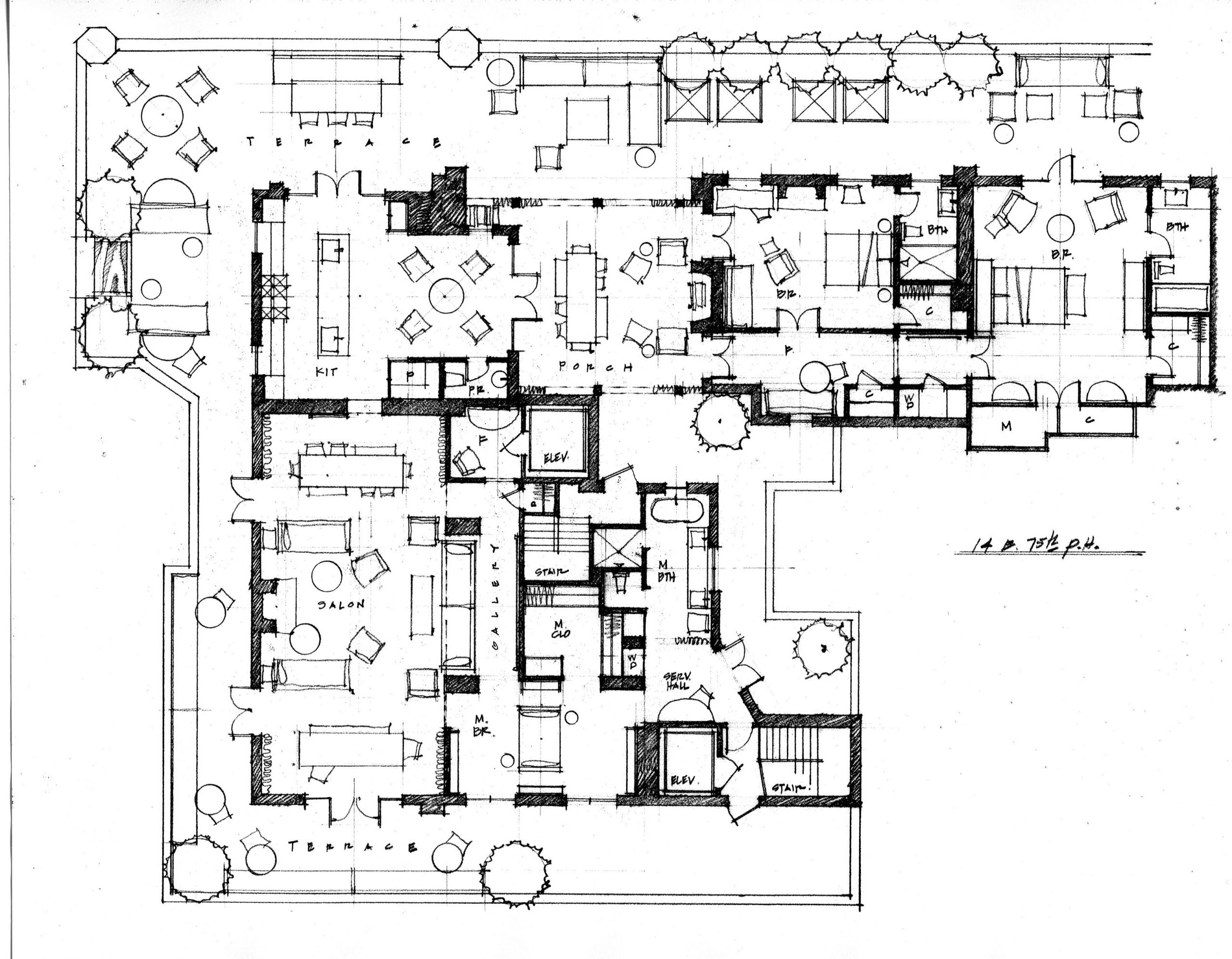 McAlpine Journal: Floor Plan