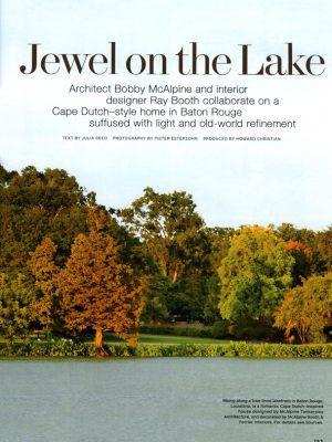 McAlpine Media: Jewel on the Lake Article