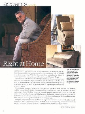 McAlpine Media: Right at Home Article