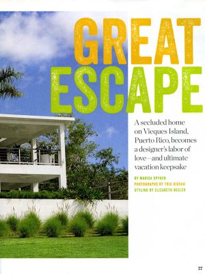 McAlpine Media: Great Escape Article