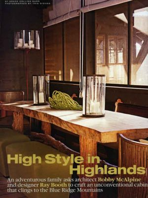 McAlpine Media: High Style in Highlands Article
