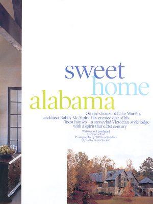 McAlpine Media: Sweet Home Alabama Article