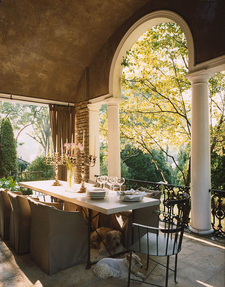 Bountiful Dining Porch