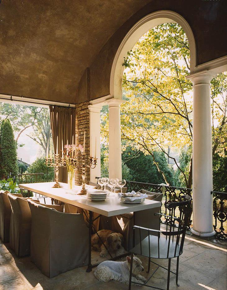 Bountiful Dining Porch